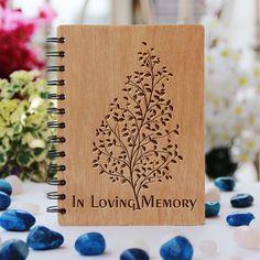 Poetry Journal, Love Journal, The Last Leaf, Wood Invitation, Cnc Wood, Christmas Jars, Custom Engraving, Laser Engraving, Personalized Notebook