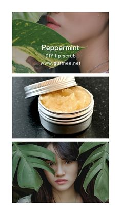 Muutamasta syömäkelpoisesta raaka-aineesta valmistettu huulikuorinta joka jättää huulet ihanan pehmeiksi! Doterra, Peppermint, Diy And Crafts, Mini, Mint, Doterra Essential Oils