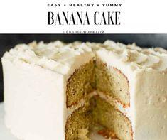 Pecan Cookie Recipes, Banana Pudding Recipes, Cake Recipes, Banana Dessert, Banana Cupcakes, Round Cake Pans, Round Cakes, Cake Tasting, Cake With Cream Cheese