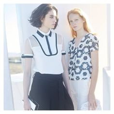Black & White Contrasts #annefontaine #french #fashion #designer #new #collection #women #paris
