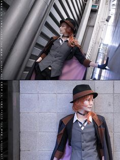 ichinosehikaru(一之濑光/一ノ瀬ヒカル) Chuya Nakahara Cosplay Photo - Cure WorldCosplay