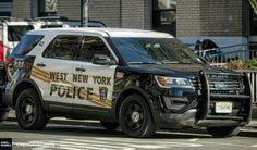 West New York (NJ) Police # 42 2016 Ford Interceptor Utility Slicktop