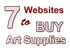 buy art supplies  http://www.artpromotivate.com/2012/10/7-online-retailers-to-buy-art-supplies.html