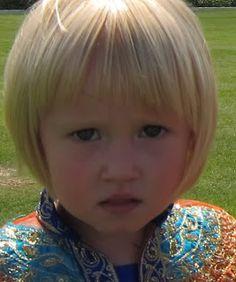 nice bob with bangs for little girl -Bridget of Arabia: A series of unfortunate haircuts