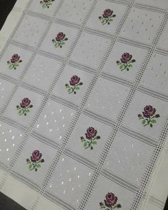 This Pin was discovered by nag Cross Stitch Borders, Crochet Borders, Cross Stitch Rose, Cross Stitch Flowers, Cross Stitch Charts, Cross Stitch Designs, Cross Stitch Embroidery, Cross Stitch Patterns, Hand Embroidery Designs