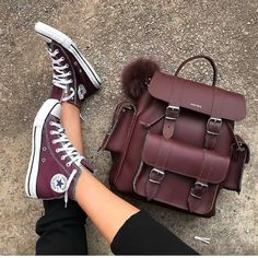 Grafea backpack new styles – Just Trendy Girls Converse All Star, Converse Shoes, Shoes Heels, Converse Style, Fashion Bags, Fashion Shoes, Fashion Accessories, Converse Fashion, Backpacks For College Girl