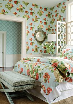 Belhaven Wallpaper - Anniversary Collection by Thibaut Design