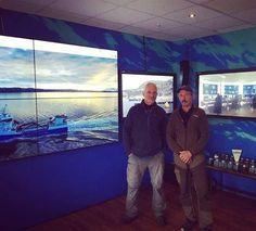 We @andorjahavfiskesenter were visited by Jeremy Wade  #norway #andørja #havfiske #fishing #fishingnorway #jeremywade #rivermonsters #northnorway #norge #troms #nordnorge #visitnorway #lucky #shark #lovefishing