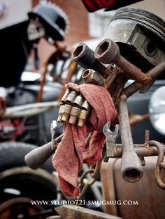 Rat rod fine art.