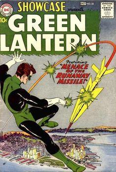 """Cover numer 1: Harold """"Hal"""" Jordan es un superhéroe de DC Comics conocido como Linterna Verde, el primer ser humano en unirse a los Green Lantern Corps y un miembro fundador de la Liga de la Justicia. Jordan es el segundo personaje de DC Comics que adopta el apodo de Linterna Verde. Fue creado en la Edad de Plata de los Cómics por John Broome y Gil Kane, e hizo su primera aparición en Showcase #22 (1959) para reemplazar al Linterna Verde original, Alan Scott, de la Edad de Oro de los Cómics."""