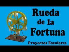 Cómo Hacer una Rueda de la Fortuna Casera (muy fácil de hacer) - YouTube