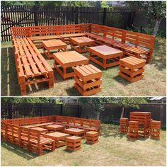 How wonderfully this whole creation of the wood pallet seating arrangement has been created for you! If you are arranging some party gathering in your house, then besides spending handsome money on expensive couch or sofa sets, this idea of wood pallet arrangements is excellent for you.