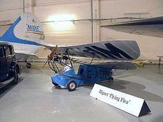 10 September 1933 First flight #flighttest of the Flying-Flea Mignet HM.14