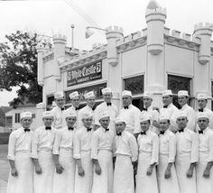 White Castle employees, Louisville, Kentucky, 1936. :: Caufield & Shook Collection