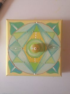 Combination of energies: 3-4 th Chakras  20x20 - available to order