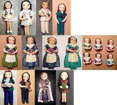Muñecos personalizados realizados con arcilla polimerica https://www.facebook.com/TOCADORDEMACA/photos/pcb.614874438657848/614866571991968/?type=1