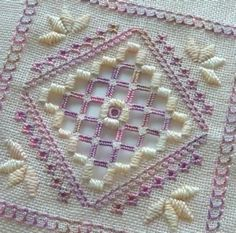 These are the two class models for my beginners hardanger class at The ...