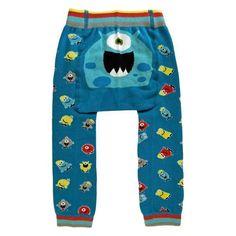 33b12dd182b Monster Pants. Knit Pants. Huggalugs