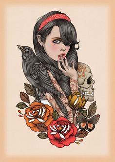 Artist: Rik-Lee #tattoo #illustration #art