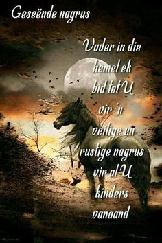 Evening Quotes, Afrikaanse Quotes, Good Night Blessings, Goeie Nag, Good Morning Good Night, Special Quotes, Sleep Tight, Beautiful Landscapes, Quote Of The Day