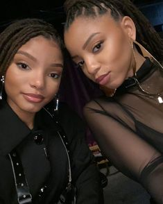Image may contain: one or more people and closeup Black Girl Magic, Black Girls, Chloe Halle, Grace Beauty, African Braids Hairstyles, Girls Braids, My Black Is Beautiful, Black Women Fashion, Love Hair