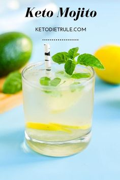 Keto Cocktails - 7 Must-Try Keto Cocktails This Summer (Mojito, Margarita) Low Calorie Alcoholic Drinks, Low Carb Cocktails, Fruity Drinks, Yummy Drinks, Tequila Drinks, Whiskey Drinks, Vodka Cocktails, Refreshing Cocktails, Fun Drinks