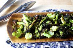 crispy broccoli with lemon and garlic