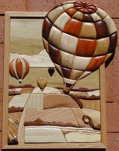 intarsia wood art that I wish I could do
