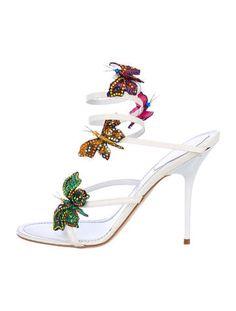 Rene Caovilla Butterfly Sandals