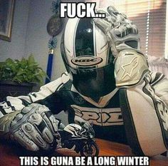 I HATE WINTER....I love winter but this was great. Glad I live somewhere I can ride year round
