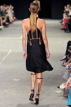 the back is rad! / Alexander Wang Spring 2013 RTW Collection - Fashion on TheCut