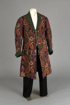 Smoking Jacket, 1860-1890 | Chester County Historical Society