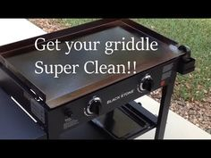 How To Clean the Blackstone and Camp Chef griddle Pratical Life How To Clean Bbq, Clean Grill, Grill Cleaning, Cleaning Tips, Flat Top Griddle, Griddle Grill, Grill Grates, All You Need Is, Outdoor Griddle Recipes