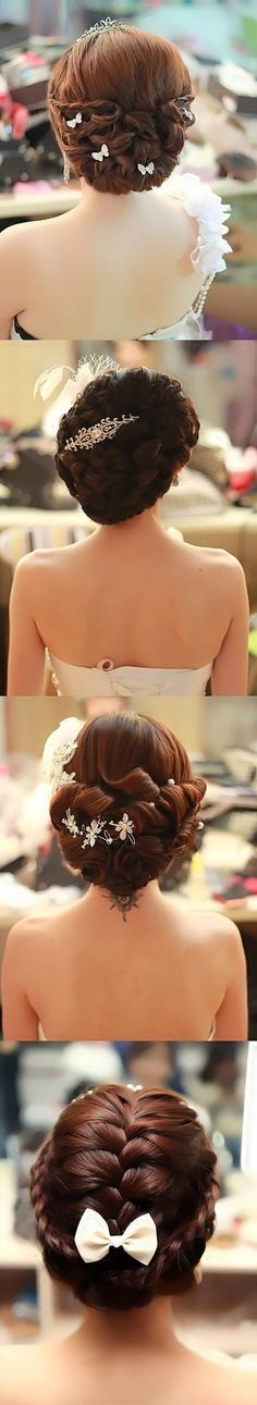 beautiful hairstyles for your big day.