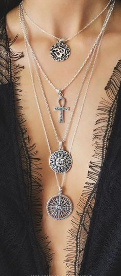 Boho necklaces WOMEN'S ACCESSORIES http://amzn.to/2kZf4gO