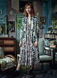 'Amongst the Bohemians' | Harpers Bazaar UK | November 2014