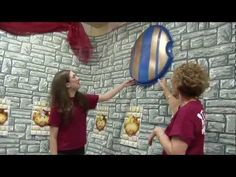 Take a tour of the Kingdom Rock VBS field test for great decorating ideas that won't break the bank