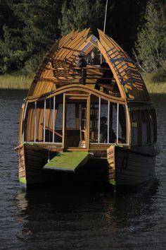 Arca Quelen, de la arquitecta Susana Herrera de Chile para el lago Lanalhue.