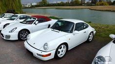 Porsche 911 blanche