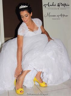 Noiva no Studio Andremare / www.andremare.com.br
