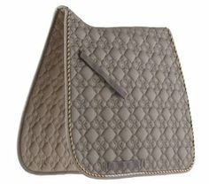 ... Diamond Dressage Saddle Pad, Taupe / Brown / Beige: Sports & Outdoors