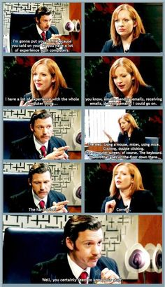 This is basically how I got my job in IT. The IT Crowd is pretty much my life.