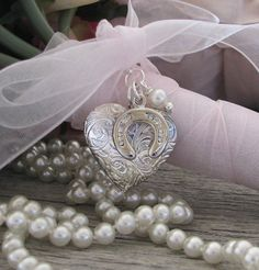 Brides Bouquet Locket Irish Wedding Tradition, by Keepsakes By Katherine
