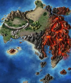 Zoldaad Map from Final Fantasy: Brave Exvius