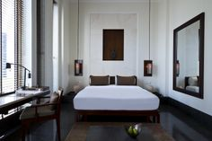The Chedi Muscat Deluxe Bedroom