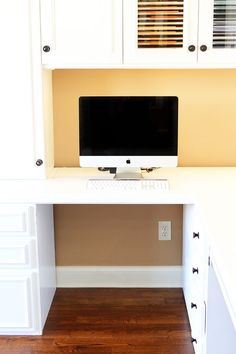 How to hide cords so there is not a jumbled tangle of wires underneath the desk!