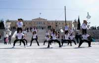 Hoboillusionerz at Syntagma sponsored by Creative People Creative People, Dolores Park, Street View, Dance, Travel, Dancing, Viajes, Destinations, Traveling