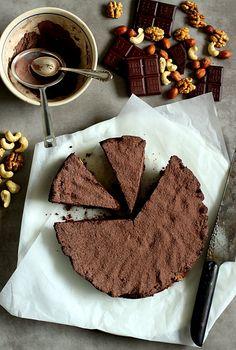 Ciasto orzechowo czekoladowe z kaszą jaglaną!!!