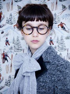 lunettes de vue femme rondes pour un look ingénu et innocent