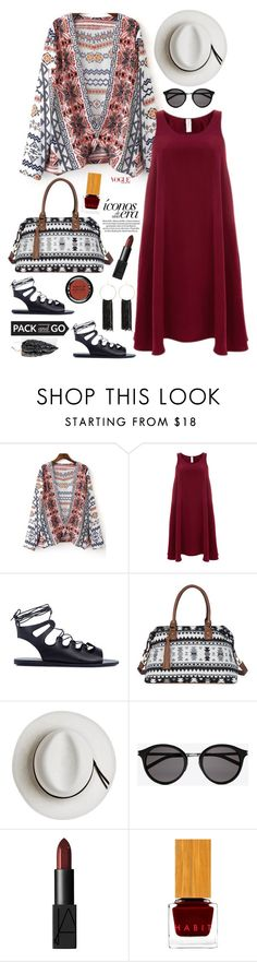 """""""Pack and Go: Mexico City'"""" by dianefantasy ❤ liked on Polyvore featuring Finery London, Ancient Greek Sandals, Sole Society, Calypso Private Label, Yves Saint Laurent, NARS Cosmetics, Habit Cosmetics, MAKE UP FOR EVER, Bebe and polyvoreeditorial"""